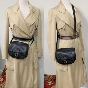 VTG Longchamp Convertible Crossbody Waist Bag